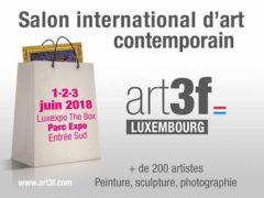 Art3F Luxembourg (1er juin-3 juin 2018)