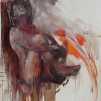 Daphnis II, Priscille Deborah, artiste peintre expressionniste