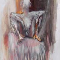 Daphnis IV, Priscille Deborah, artiste peintre expressionniste