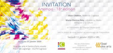 Salon Artempo (11-25 janvier 2020)