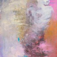 Renata I - Priscille Deborah, artiste peintre expressionniste sensualiste