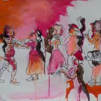 La belle Soulac VII, Priscille Deborah artiste peintre expressionniste sensualiste