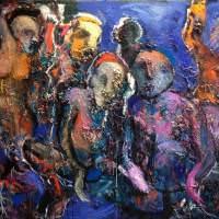 Mystic Africa, Priscille Deborah artiste peintre expressionniste sensualiste