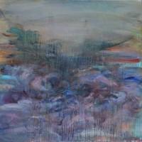 Le pays des oubliés II, Priscille Deborah artiste peintre expressionniste sensualiste