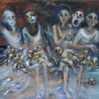 La révolution d'Erable, Priscille Deborah artiste peintre expressionniste sensualiste