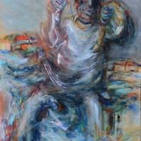 La souterraine, Priscille Deborah artiste peintre expressionniste sensualiste