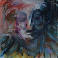 Galatée, Priscille Deborah artiste peintre expressionniste sensualiste