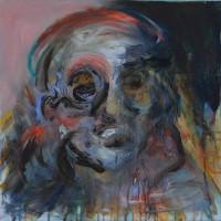 Lycaon, Priscille Deborah artiste peintre expressionniste sensualiste