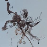 Alive #1, Priscille Deborah artiste peintre expressionniste sensualiste