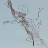 Alive #10, Priscille Deborah artiste peintre expressionniste sensualiste
