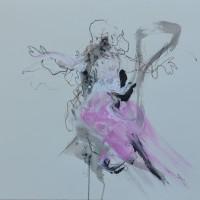 Alive #11, Priscille Deborah artiste peintre expressionniste sensualiste