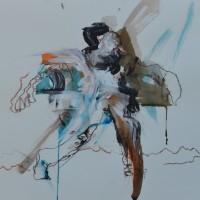 Alive #12, Priscille Deborah artiste peintre expressionniste sensualiste
