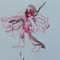 Alive #13, Priscille Deborah artiste peintre expressionniste sensualiste