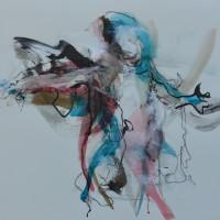 Alive #14, Priscille Deborah artiste peintre expressionniste sensualiste