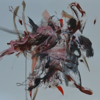 Alive #15, Priscille Deborah artiste peintre expressionniste sensualiste