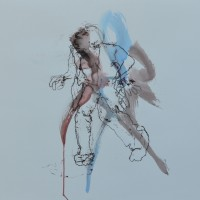 Alive #16, Priscille Deborah artiste peintre expressionniste sensualiste