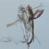 Alive #18, Priscille Deborah artiste peintre expressionniste sensualiste