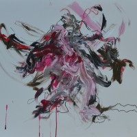 Alive #19, Priscille Deborah artiste peintre expressionniste sensualiste