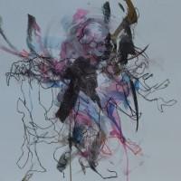 Alive #2, Priscille Deborah artiste peintre expressionniste sensualiste