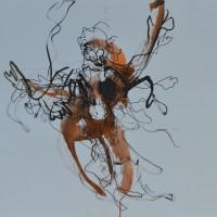 Alive #3, Priscille Deborah artiste peintre expressionniste sensualiste