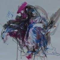 Alive #4, Priscille Deborah artiste peintre expressionniste sensualiste