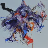 Alive #5, Priscille Deborah artiste peintre expressionniste sensualiste