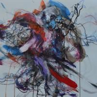 Alive #6, Priscille Deborah artiste peintre expressionniste sensualiste