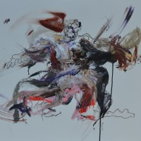 Alive #7, Priscille Deborah artiste peintre expressionniste sensualiste