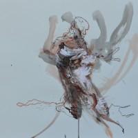 Alive #8, Priscille Deborah artiste peintre expressionniste sensualiste