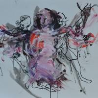 Alive #9, Priscille Deborah artiste peintre expressionniste sensualiste