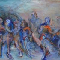 Les rescapés des Galapagos, Priscille Deborah artiste peintre expressionniste sensualiste