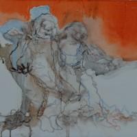 Sans toi ni loi, Priscille Deborah artiste peintre expressionniste sensualiste