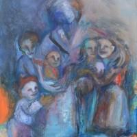 Frères d'ailleurs, Priscille Deborah artiste peintre expressionniste sensualiste