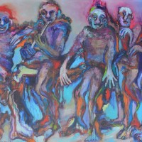 African dream, Priscille Deborah artiste peintre expressionniste sensualiste