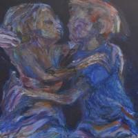 If excessif, Priscille Deborah artiste peintre expressionniste sensualiste