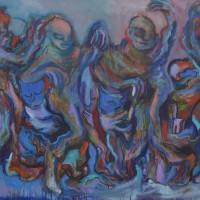Love song, Priscille Deborah artiste peintre expressionniste sensualiste