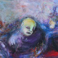 La mémoire et l'oubli, Priscille Deborah artiste peintre expressionniste sensualiste