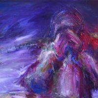 Oublier jamais, Priscille Deborah artiste peintre expressionniste sensualiste