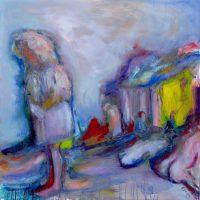 Acqua bocca, Priscille Deborah artiste peintre expressionniste sensualiste