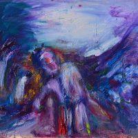 L'étrange Monsieur Olaf, Priscille Deborah artiste peintre expressionniste sensualiste