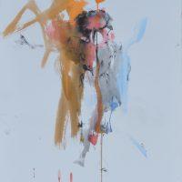 Sanguine #XIII, Priscille Deborah artiste peintre expressionniste sensualiste