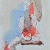 Veno de Milus #V, Priscille Deborah artiste peintre expressionniste sensualiste