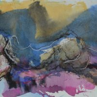 Veno de Milus #VI, Priscille Deborah artiste peintre expressionniste sensualiste