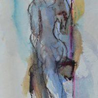 Veno de Milus #I, Priscille Deborah artiste peintre expressionniste sensualiste