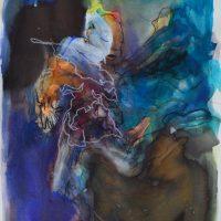 Habanera, Priscille Deborah artiste peintre expressionniste sensualiste