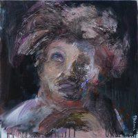 L'ombre d'un doute, Priscille Deborah artiste peintre expressionniste sensualiste