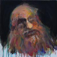 L'ombre d'un espoir, Priscille Deborah artiste peintre expressionniste sensualiste