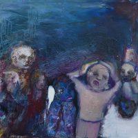 La corrida de la pensée, Priscille Deborah artiste peintre expressionniste sensualiste