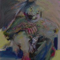 Elle buvait du silence, Priscille Deborah artiste peintre expressionniste sensualiste