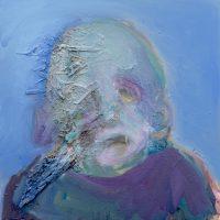 Il mangeait du ciel bleu, Priscille Deborah artiste peintre expressionniste sensualiste